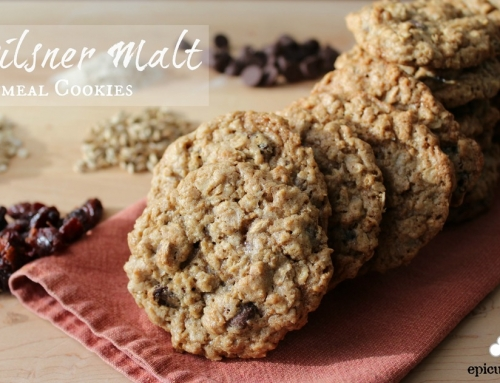 Pilsner Malt Oatmeal Cookie Recipe and Malthouse Tour – epicuricloud