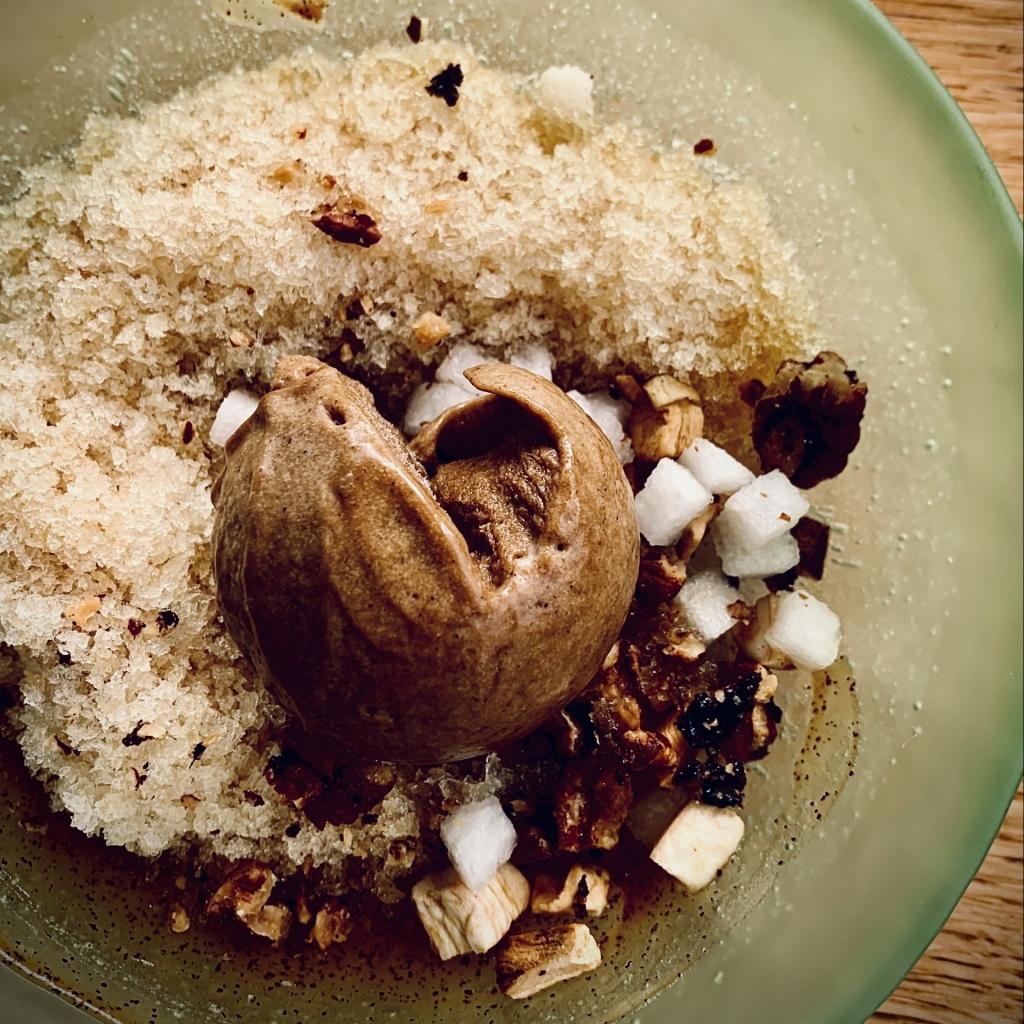 Malty oat ice